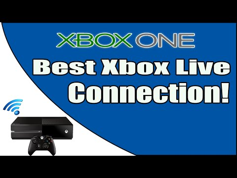 How to get the best Xbox Live connection possible!