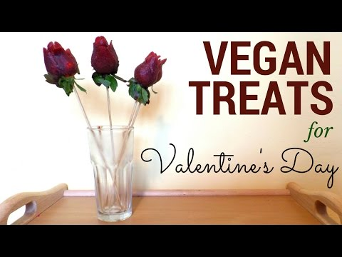 DIY Valentine's Day Treats | Vegan Treat Ideas | Salty and Sweet Treats | by Fluffy Hedgehog