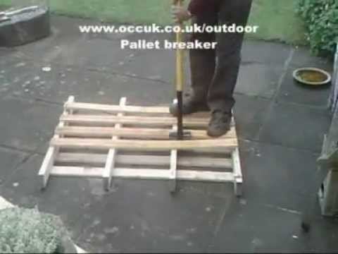 Pallet Breaker, Pallet furniture,Dismantling Bar - For Lifting Boards from www.occuk.co.uk/outdoor