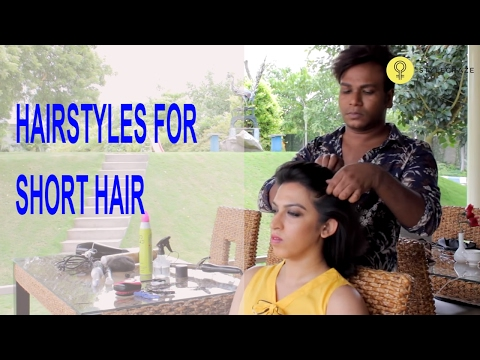 Easy Hairstyles For Short Hair 2017
