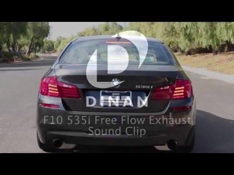 DINAN F10 535i Free Flow Exhaust Sound Clip  - BavAuto