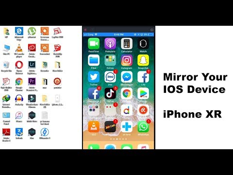 How To Mirror iPad, iPhone XR iPhone XS Max iPhone 8 All IOS Deivce
