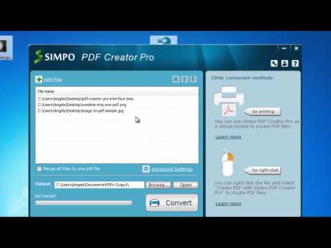 how to convert images png bmp jpeg jpg to pdf (part 1)