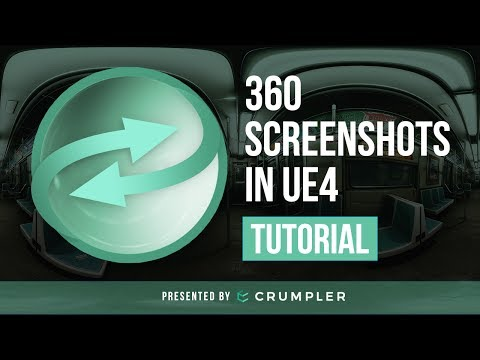 How to Create 360 Screenshots in Unreal Engine