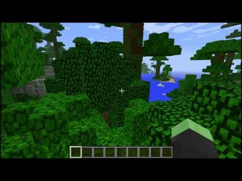 Minecraft Seed 1.7/1.8: THE MIGHTY JUNGLE! (Temple and Double Dungeon near Spawn, Saddle and Armor)