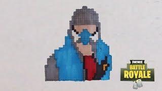 Dessin Pixel Art Fortnite Arme