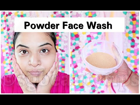 Get Fair, Glowing & Radiant Skin In Just 2 Min | DIY Homemade Powder Face Wash | Srestha Ghose |