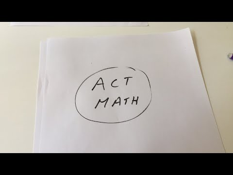 ACT Math Live Session