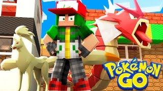 Pokemon Go in Minecraft - Pokemon Vanilla World #3