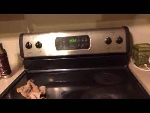 How To Set The Clock On A Frigidaire Stove