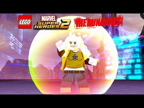 LEGO Marvel Super Heroes 2 Karolina Dean Free Roam Gameplay (The Runaways DLC)