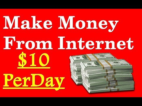 Daily 10 $ Easily from Internet without Investment