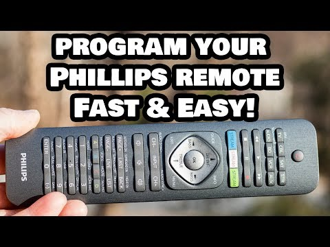 Programming Your Phillips Universal Remote Control to ANY Device