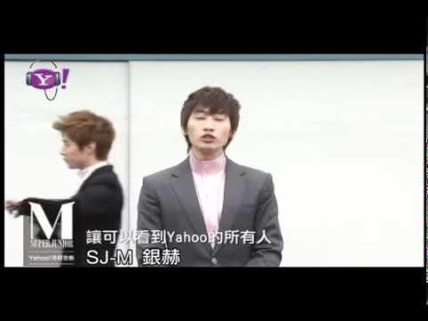 [ENG] 110622 SJM Eunhyuk Message To Fans + Kyuhyun Henry interfering @ Yahoo Music
