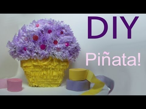 DIY party pinata tutorial