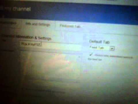 how to change your name on youtube 2012 !! *new* 2012