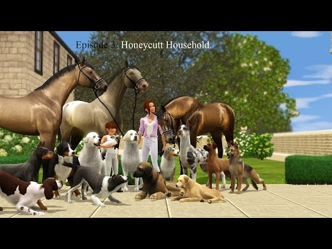 Ep 3: My current household | Sims 3 | Honeycutt Household