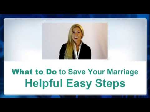 ★ Find out What to Do to Save Your Marriage and Avoid divorce