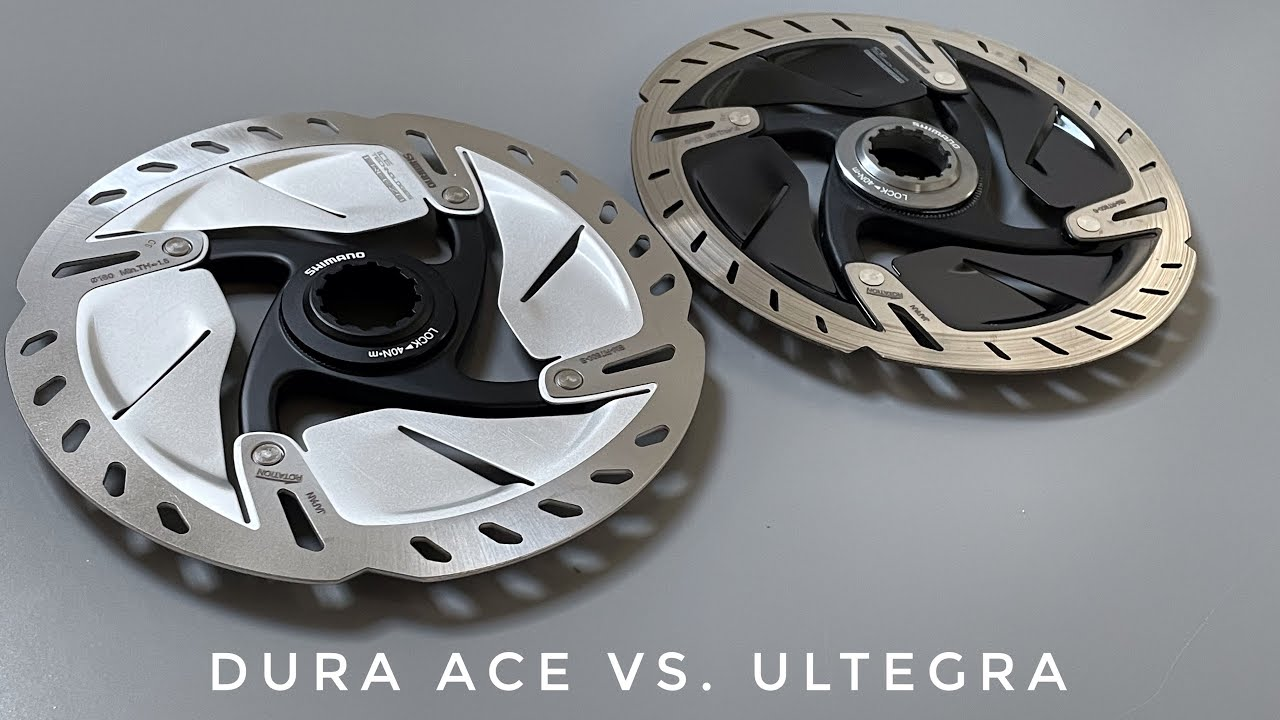 Dura Ace Vs. Ultegra Brake Rotors