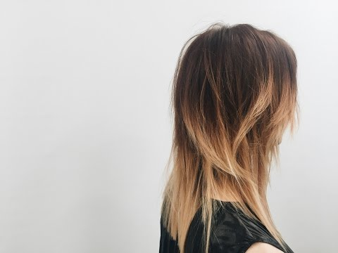How to cut layers haircut tutorial