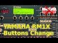 Yamaha RM1X menu buttons replacement