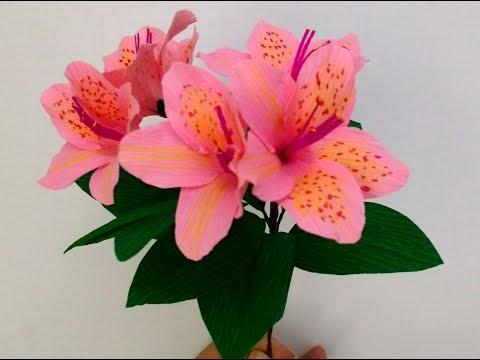 How to make Paper Flower Azalea (flower # 175)