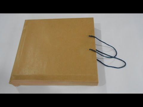 DIY How to Make Enviornment Friendly Brown Paper Bag