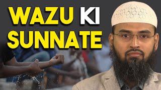 Wazu Ki Sunnate By Adv. Faiz Syed