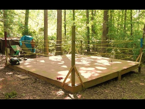 Setting Up an Inexpensive Wrestling Ring