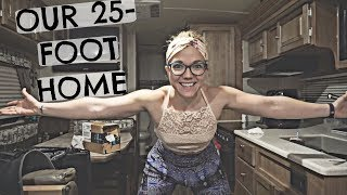 TINY HOME TOUR - FULL TIME RV LIVING 👫