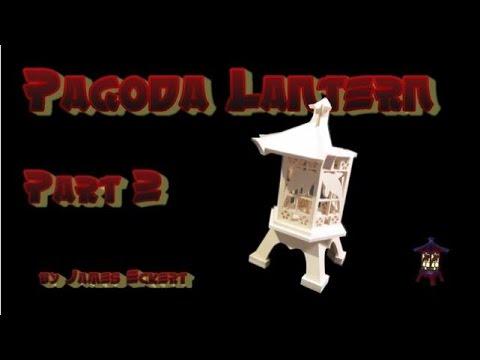 Making a Pagoda Lantern Part 2