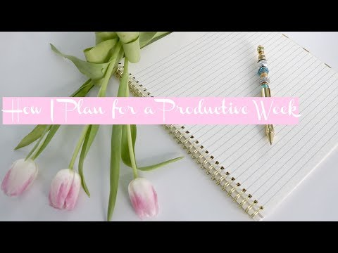 My Sunday Routine |  Prepping for the Week | How to Have a  Productive Week
