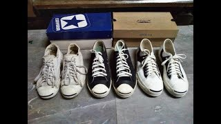 7e442bb4ee31 Review Jack Purcell Retro V.1 Rally White Black Repro 1980 (Thailand)