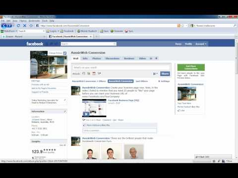Claim for Facebook business URL