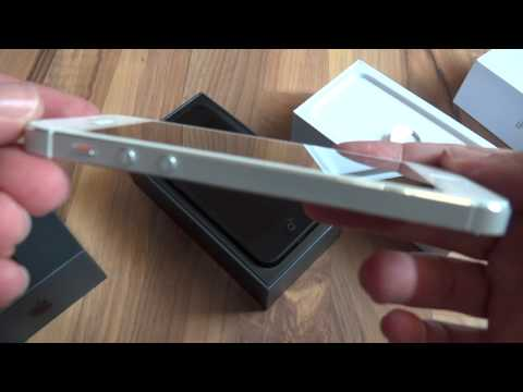 Original iPhone 5 unboxing Black & White from Apple! Full HD! Hands on!