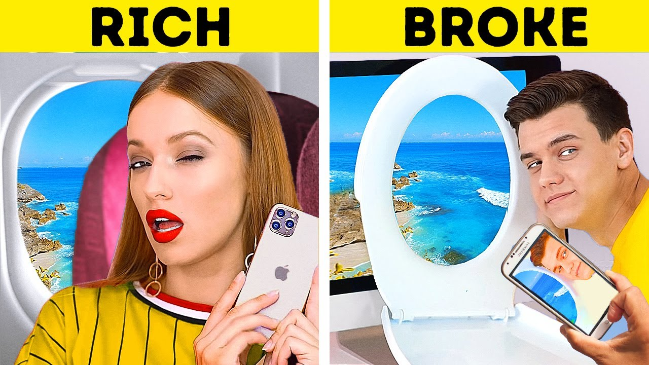 RICH STUDENTS vs BROKE STUDENTS! || Other People VS Me by 123 Go! Genius