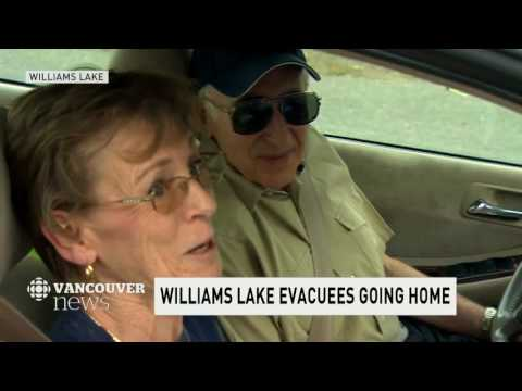 CBC News Vancouver: Evacuation order lifted for Williams Lake