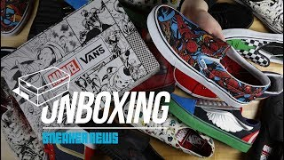 79e3b7e00a Vans Marvel Collection Unboxing + Review