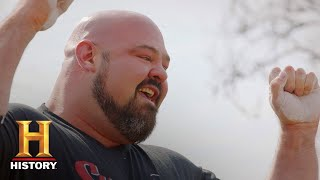 BRIAN SHAW'S WORLD RECORD 733 LB STONE LIFT | The Strongest Man in History | History