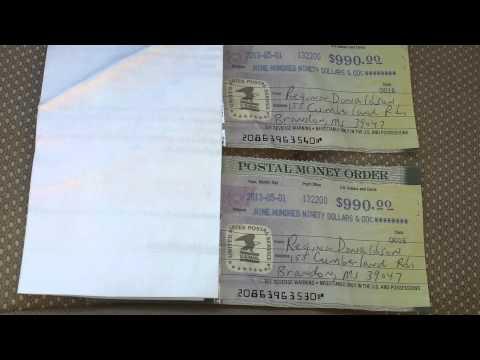 Fake money orders beware