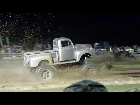 The Farm Mud Races 2018 Full Size Trucks Diesels and Jeeps Punta Gorda Florida