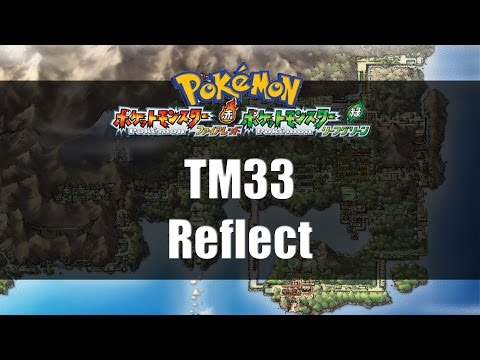 Pokemon Fire Red & Leaf Green | Where to find TM33 Reflect