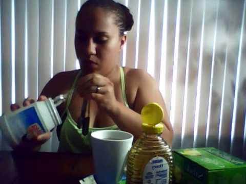 coconut oil green tea
