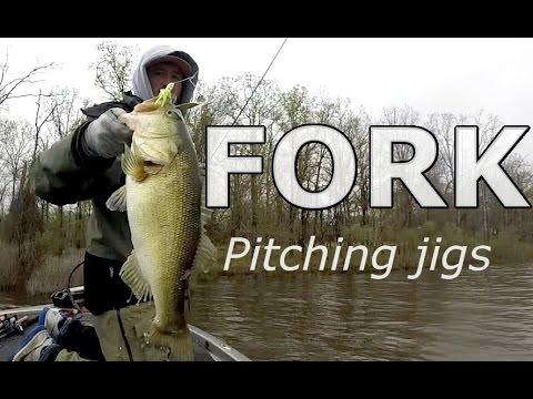 Lake FORK Jig Fishing - Early Spring