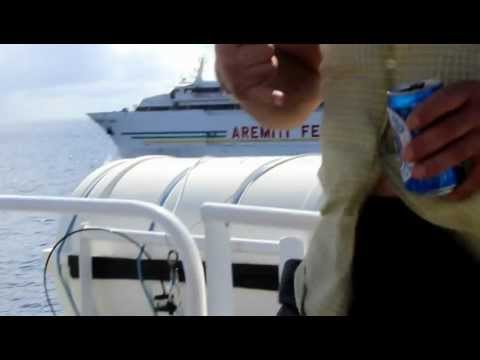 Aremiti Ferry to Moorea from Tahiti