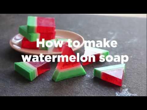 Make your own watermelon soap | ao.com