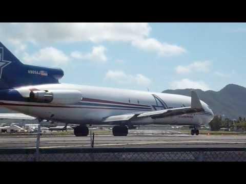 St Martin Jet Take Off Beach Blast