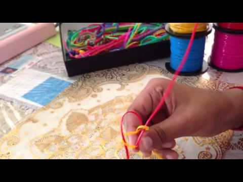How to make a Box Stitch Lanyard
