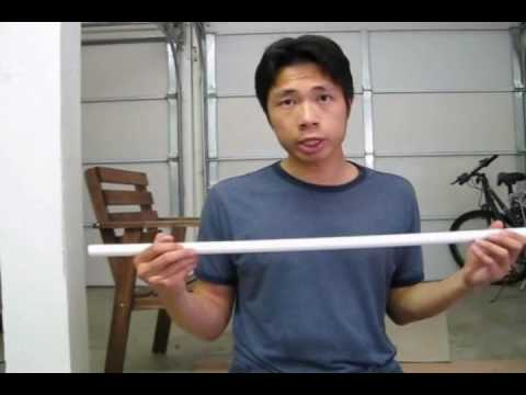 How to build a foam / latex katana style sword Tutorial part 1 and 2 of 8