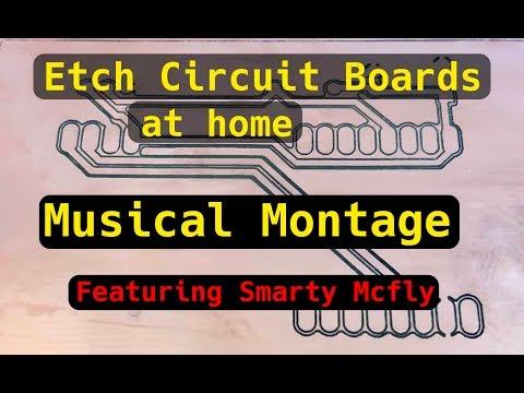 Laser Etching Circuit Boards (Montage Edit)